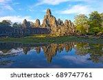 angkor vat temple | Shutterstock . vector #689747761
