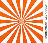 orange sun rays background  ... | Shutterstock .eps vector #689770969