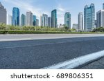 cityscape and skyline of... | Shutterstock . vector #689806351