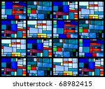 Stained Glass Window Pattern...