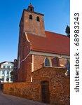 Catholic church in Grudziadz - Poland - stock photo