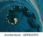 3d model generation of fractals ... | Shutterstock . vector #689833591