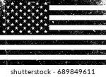 grunge monochrome united states ... | Shutterstock . vector #689849611