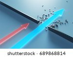 3d illustration of leading... | Shutterstock . vector #689868814
