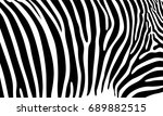 realistic abstract zebra skin... | Shutterstock .eps vector #689882515