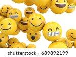 emoji emoticon character... | Shutterstock . vector #689892199