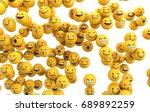 emoji emoticon character... | Shutterstock . vector #689892259