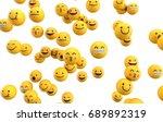 emoji emoticon character... | Shutterstock . vector #689892319