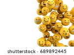 emoji emoticon character... | Shutterstock . vector #689892445
