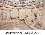prehistoric mnajdra temples....