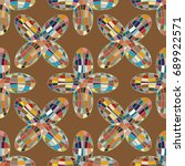 colour seamless pattern with...