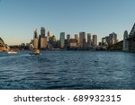 generic modern cityscape with... | Shutterstock . vector #689932315