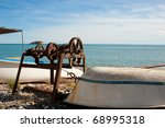 traditional fishing boats ... | Shutterstock . vector #68995318