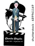 Beautiful Charlie Chaplin Retr...