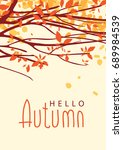 vector banner with the words... | Shutterstock .eps vector #689984539
