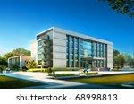 3d building | Shutterstock . vector #68998813