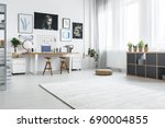 space for creative actions in... | Shutterstock . vector #690004855