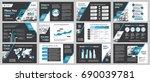 city background business... | Shutterstock .eps vector #690039781