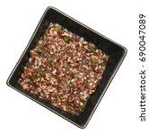 salsa verde middle eastern... | Shutterstock . vector #690047089