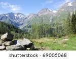 Mountain View In Austria At Th...
