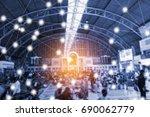modern and wireless sensor... | Shutterstock . vector #690062779