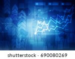 2d rendering business concept.... | Shutterstock . vector #690080269