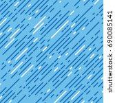 vector seamless pattern... | Shutterstock .eps vector #690085141