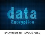2d illustration cyber attack | Shutterstock . vector #690087067