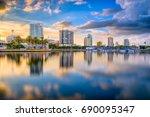 St. Petersburg  Florida  Usa...