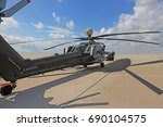 russian attack helicopter mi 28 ... | Shutterstock . vector #690104575