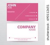 modern design flat pink color...   Shutterstock .eps vector #690112651