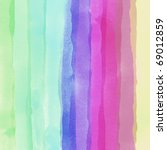 colorful watercolor line  background - stock photo