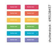 website buttons set | Shutterstock .eps vector #690138457