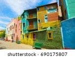 Bright Colors Of Caminito  The...