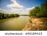 rio grande texas usa mexico... | Shutterstock . vector #690189415