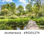 forest and nature area loetbos... | Shutterstock . vector #690201274
