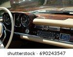 Classic Car Woodgrain Dashboar...