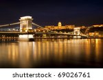 Night Lights In Budapest