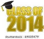graduation 2014 | Shutterstock . vector #69035479