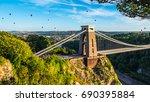bristol international balloon... | Shutterstock . vector #690395884