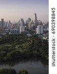 bangkok  thailand   august 1 ... | Shutterstock . vector #690398845