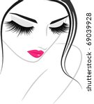 make up icon | Shutterstock .eps vector #69039928