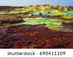 Dallol  The Sulfur Lake Area I...
