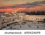 Western Wall At The Dome Of Th...