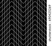 seamless surface pattern design ... | Shutterstock .eps vector #690425269