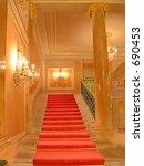 theater entrance in venice | Shutterstock . vector #690453