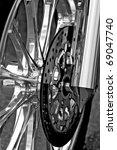 Motor Bike Detail   Wheel And...