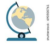 globe icon   Shutterstock .eps vector #690500761