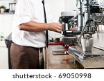 clean image of coffee station... | Shutterstock . vector #69050998