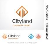 city land logo template design... | Shutterstock .eps vector #690540937